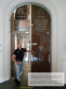 Welkomstgedicht Martinikerk, Bolsward 2020